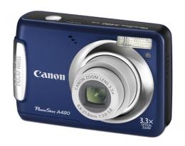 Фотоаппарат Canon PowerShot A480 blue