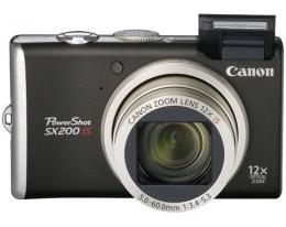 Фотоаппарат CANON Powershot SX200 IS black