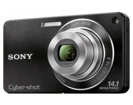 Фотоаппарат Sony Cybershot DSC-W350 Black