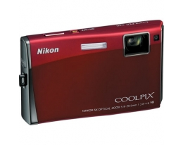 Фотоаппарат Nikon Coolpix S60 red