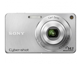 Фотоаппарат Sony Cybershot DSC-W350 Silver