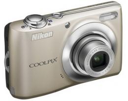 Фотоаппарат NIKON Coolpix L22 Silver