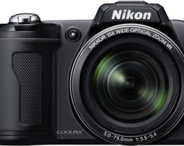 Фотоаппарат Nikon COOLPIX L110 Black