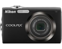 Фотоаппарат NIKON Coolpix S3000 Black
