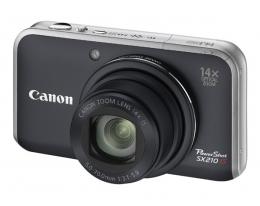 Фотоаппарат Canon PowerShot SX210 Black