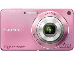 Фотоаппарат Sony Cybershot DSC-W350 Pink