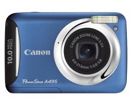 Фотоаппарат Canon PowerShot A495 blue