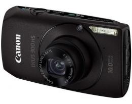 Фотоаппарат CANON IXUS 300 HS black