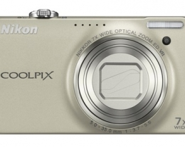 Фотоапарат Nikon Coolpix S6000 silver