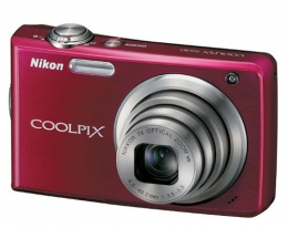 Фотоаппарат Nikon Coolpix S630 red