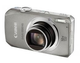 Фотоаппарат Canon IXUS 1000 HS silver