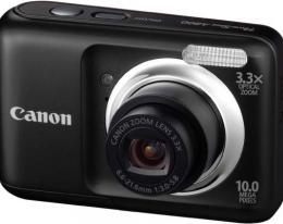 Фотоаппарат Canon Powershot A800 black