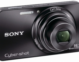 Фотоаппарат Sony Cyber-Shot DSC-W570 black