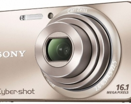 Фотоаппарат Sony Cyber-Shot DSC-W570 gold