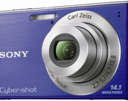 Фотоаппарат Sony CyberShot DSC-W530 blue