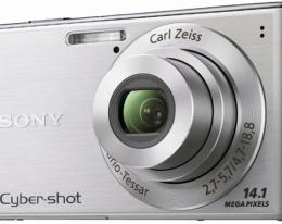 Фотоаппарат Sony CyberShot DSC-W530 silver
