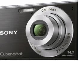 Фотоаппарат Sony CyberShot DSC-W530 black