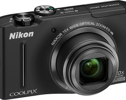 Фотоаппарат Nikon Coolpix S8100 black