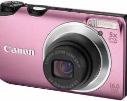Фотаппарат Canon Powershot A3300 IS Pink