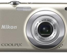 Фотоаппарат Nikon COOLPIX S2500 Silver
