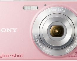 Фотаппарат Sony Cyber-Shot W510 Pink