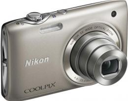 Фотоаппарат Nikon COOLPIX S3100 SILVER