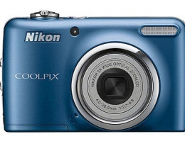 Фотоаппарат NIKON Coolpix L23 Blue