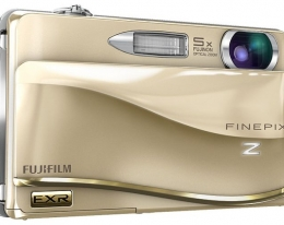Фотоаппарат FujiFilm Finepix Z800EXR gold