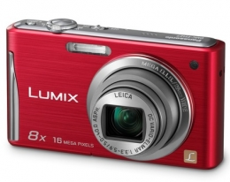 Фотоаппарат Panasonic Lumix DMC-FS37 red