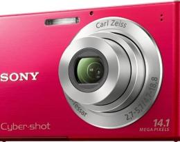 Фотоаппарат Sony DSC-W330 red
