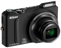 Фотоаппарат NIKON Coolpix S9100 Black