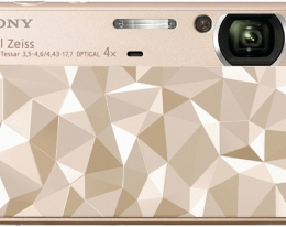 Фотоаппарат SONY DSC-T110 Gold