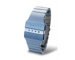 Tokyoflash Heko серебристый металл – голубая иллюминация