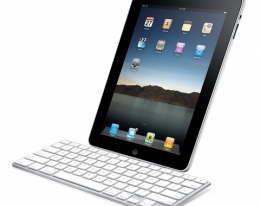 Клавиатура Apple iPad Keyboard Dock (с рус.)