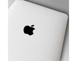 Пленка кожанная SGP Protective Skin белая для iPad