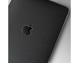 Пленка кожанная SGP Protective Skin черная для iPad