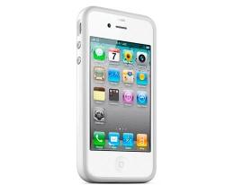 Apple iPhone 4 Bumper белый