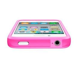 Apple iPhone 4 Bumper розовый