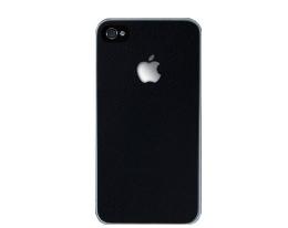 Декоративная пленка SGP Skin Guard черная для iPhone 4