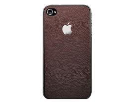 Декоративная пленка SGP Skin Guard коричневая для iPhone 4