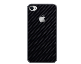 Декоративная пленка SGP Skin Guard карбоновая для iPhone 4