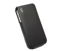 Чехол раскладной SGP Illuzion Legend черный для iPhone 4 / 4S