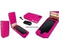 Чехол раскладной Piel Frama Magnet розовый для iPh...