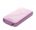 Чехол раскладной SGP Valencia розовый для iPhone 4...