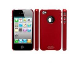 Кейс SGP Ultra Thin красный глянцевый для iPhone 4 / 4S