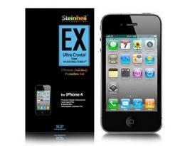 Пленка на корпус SGP Steinheil EX глянцевая для iPhone 4
