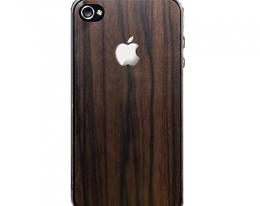 Декоративная пленка SGP Skin Guard под дерево для iPhone 4