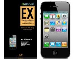 Пленка на корпус SGP Steinheil EX матовая для iPhone 4