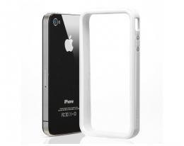 Кейс SGP Neo Hybrid EX белый для iPhone 4