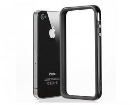 Кейс SGP Neo Hybrid EX черный для iPhone 4